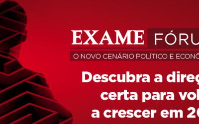 EXAME FÓRUM TEM ALTA DE 24% EM INSCRIÇÕES